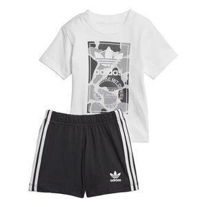 Ensemble de vêtements Ensemble baby adidas Camo Trefoil