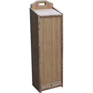 CORBEILLE - PANIÈRE Huche à pain bambou