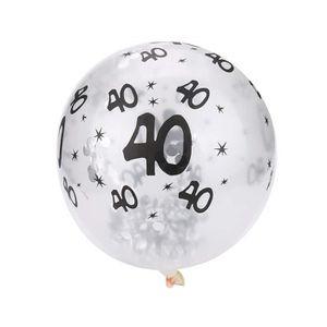 """feuille jumbo anniversaire âge Rose grand chiffre 34/"""" ballons-choisir à partir de 0-9"""