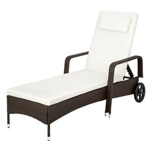 chaise longue transat achat vente chaise longue transat pas cher cdiscount. Black Bedroom Furniture Sets. Home Design Ideas