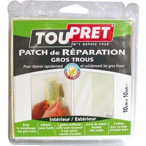 ADHÉSIF Patch de réparation gros trous - 10 cm x 10 cm