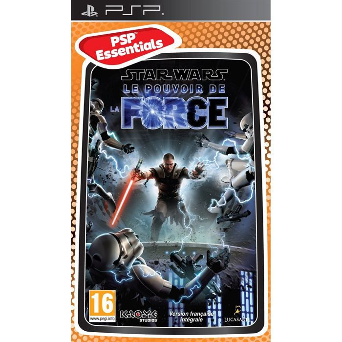 JEU PSP STAR WARS THE FORCE UNLEASHED ESSENTIALS / PSP