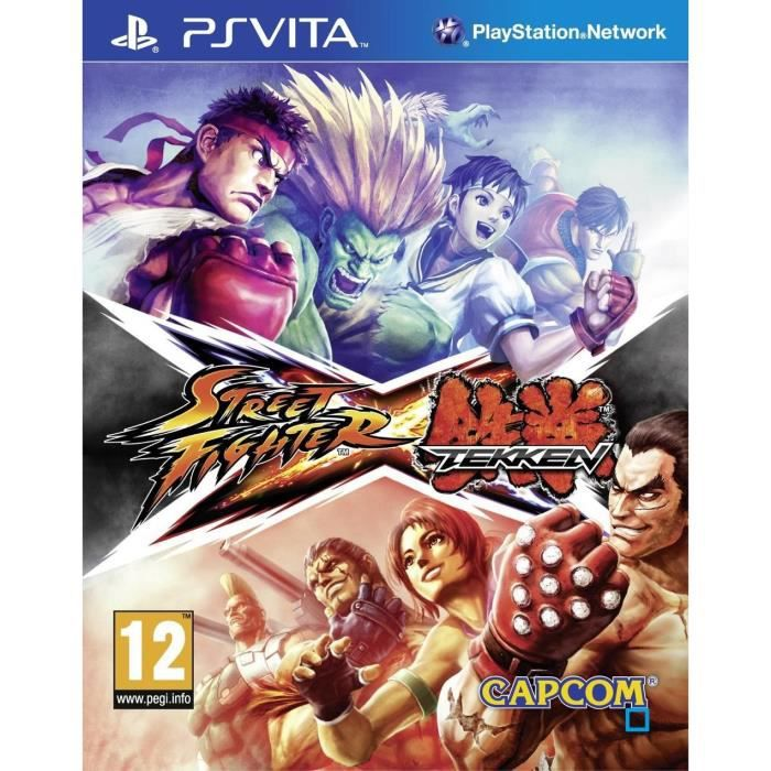 Street Fighter X Tekken Jeu PS Vita