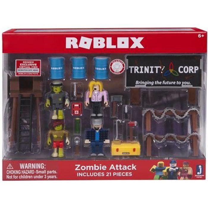 Roblox - 10761 - Figurines Et Set De Jeu - Zombie Attack XKIIT
