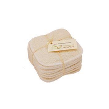 Carrés démaquillants lavables (Bambou couleur)