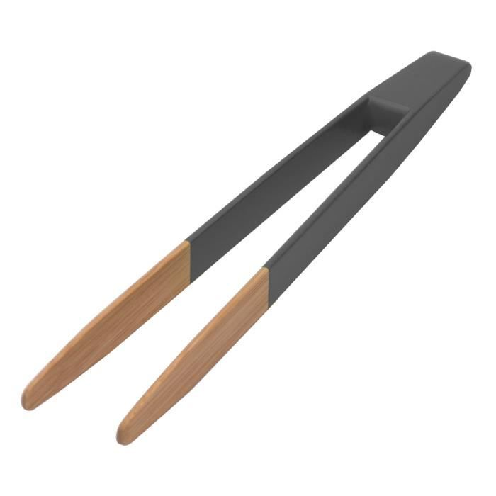 Pince à toast - anthracite Anthracite,Bois