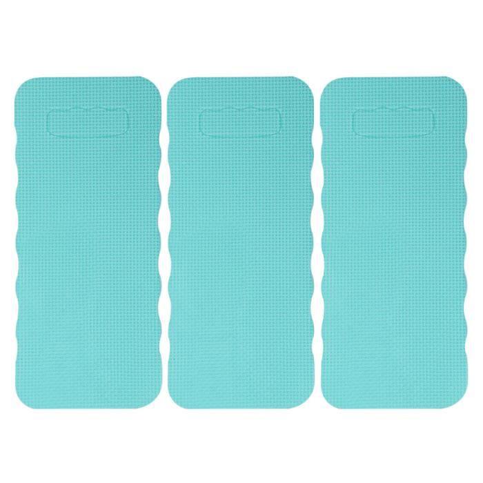 3 pièces tapis de genou Portable multifonctionnel Yoga genouillère de protection pour la maison GROUND MAT - GYM MAT - YOGA MAT
