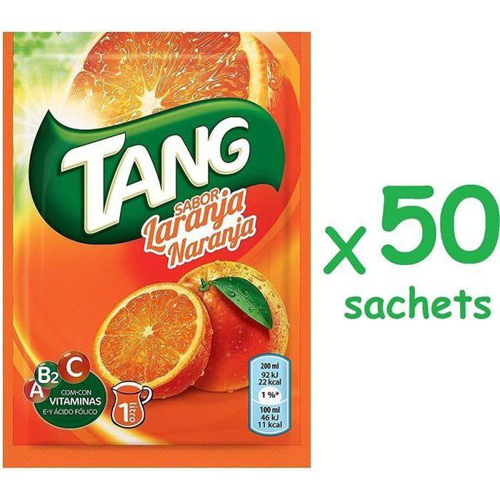 Boisson vitaminée Tang orange 50 sachets