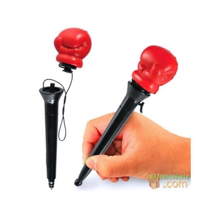 Stylo gant de boxe éjectable