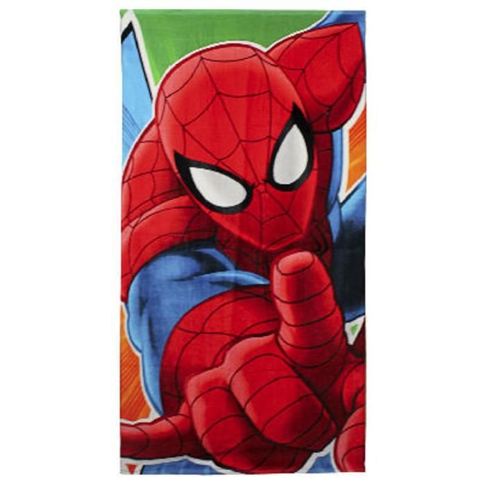 Serviette plage Spiderman Marvel-3161