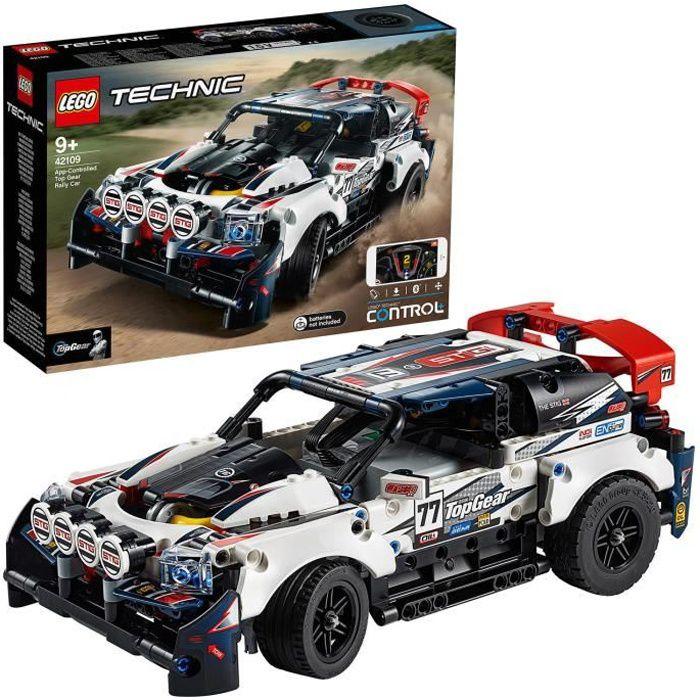 LEGO® Technic 42109 - La voiture de rallye contrôlée