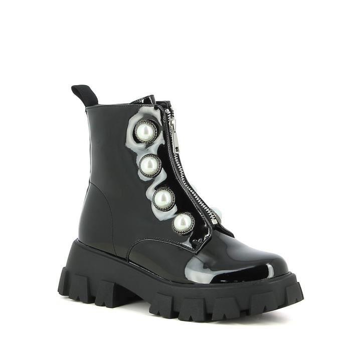 Boots dad shoes perlées
