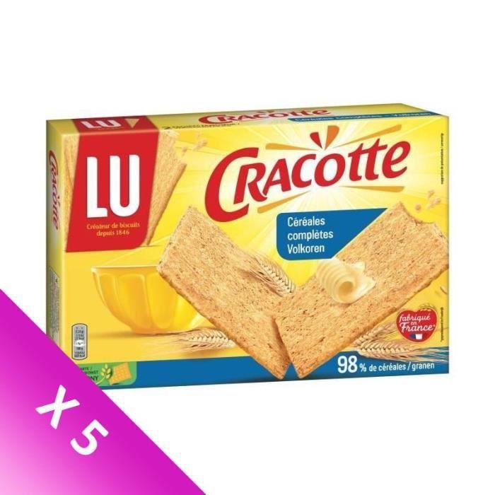 [LOT DE 5] Cracotte céréales complètes 250g Cracotte