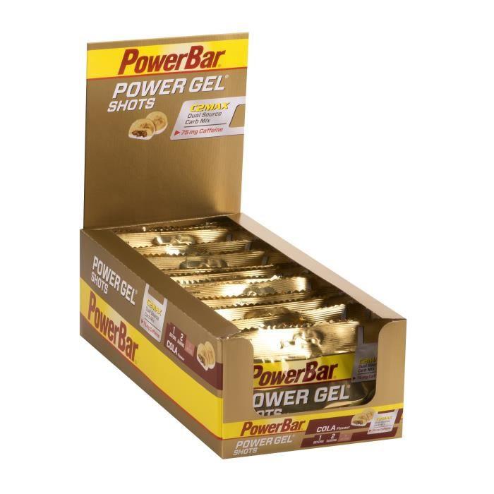 POWERBAR Lot de 16 gels Shots - Coca - 60 g