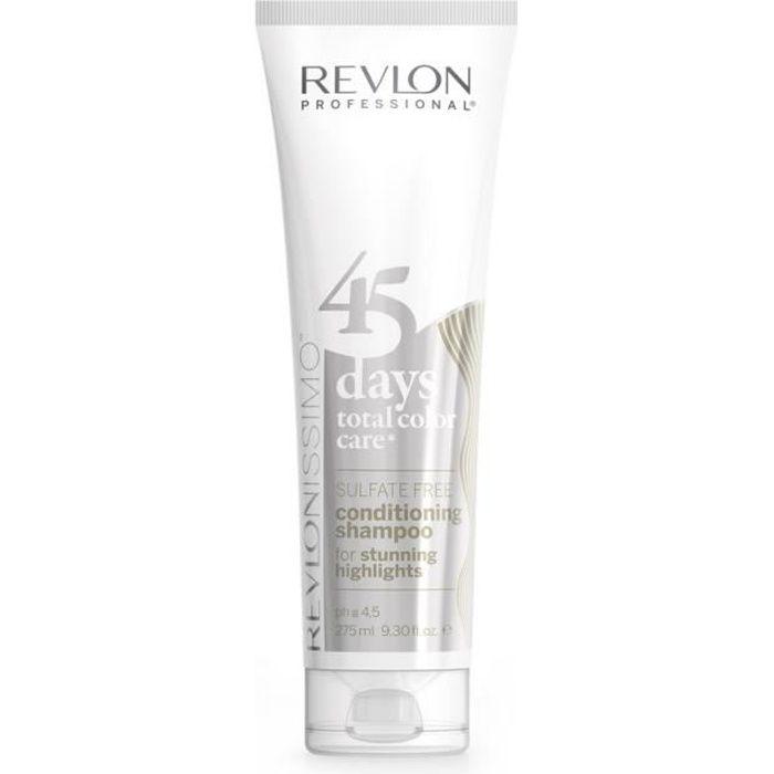 Revlon - Shampoing & Conditionneur 45 Days Stunning Highlights