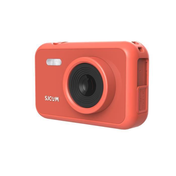 Caméra D'action 1080P Pixel 12MP, SJCAM Camera Enfants Camescope, Appareil Photo Enfant Enregistrement Video - Orange