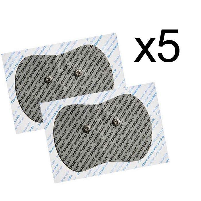 Pack de 10 électrodes pour sudoloris ou farmadolor Sport-Elec Electrostimulation