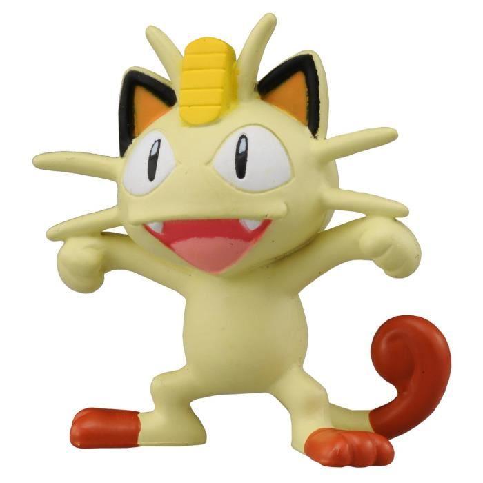 Takaratomy officiel Pokémon X et Y Mc-045 5,1 cm Miaouss Action Figure