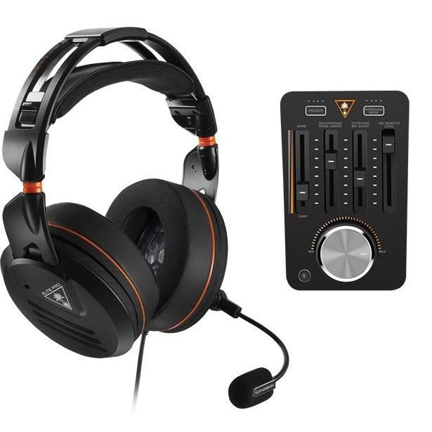 TURTLE BEACH Casque Gamer + T.A.C Elite Pro