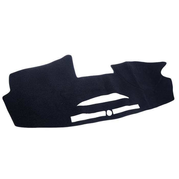 Duokon Tapis de protection pour tableau de bord de voiture antid/érapant pour Macan 2017 Noir