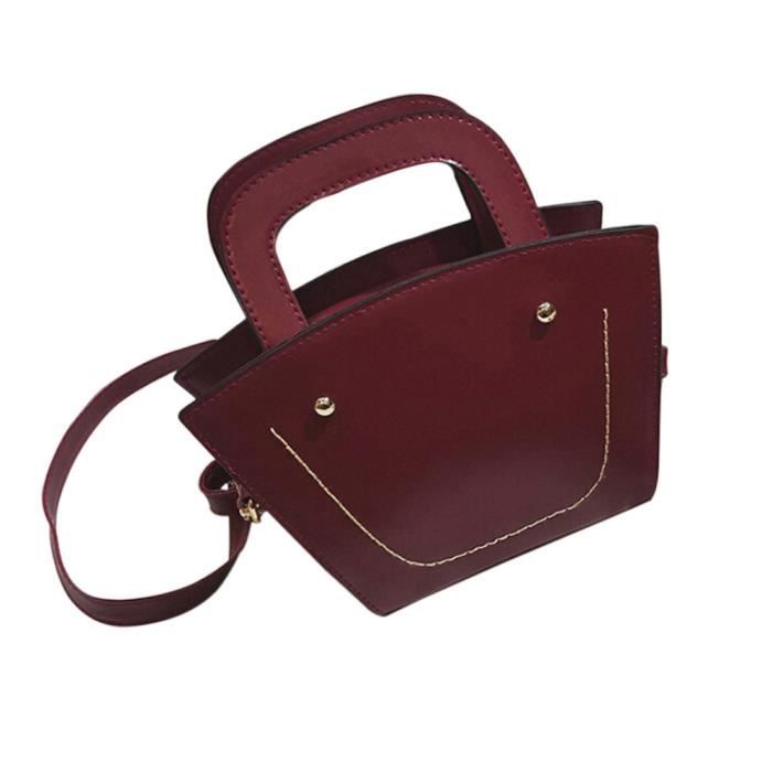 SACOCHE Nouveau mode Grand sac bandoulière femme Messenger Bag Ladies sac à main WE_Be18580
