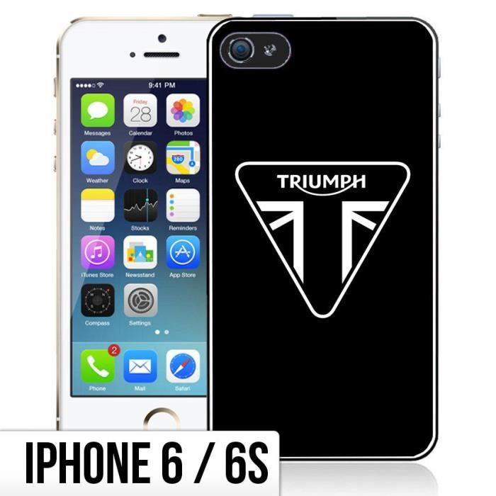 coque iphone 6 6s triumph logo