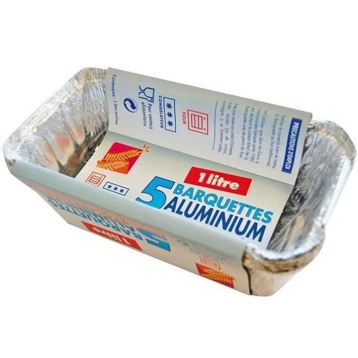 Barquette aluminium - Achat / Vente pas cher