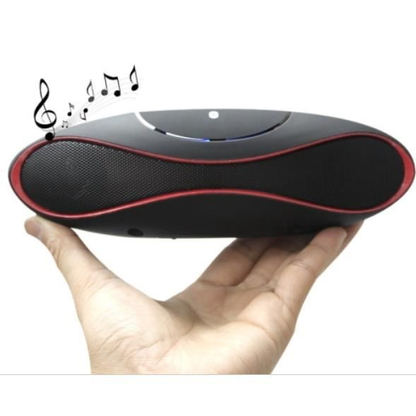 mini enceinte x6 rugby bluetooth mp3 fm pour iphone. Black Bedroom Furniture Sets. Home Design Ideas