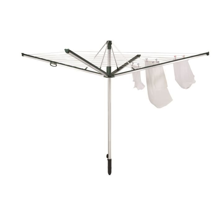 sechoir parapluie linomatic plus 500 achat vente fil linge tendoir sechoir parapluie. Black Bedroom Furniture Sets. Home Design Ideas