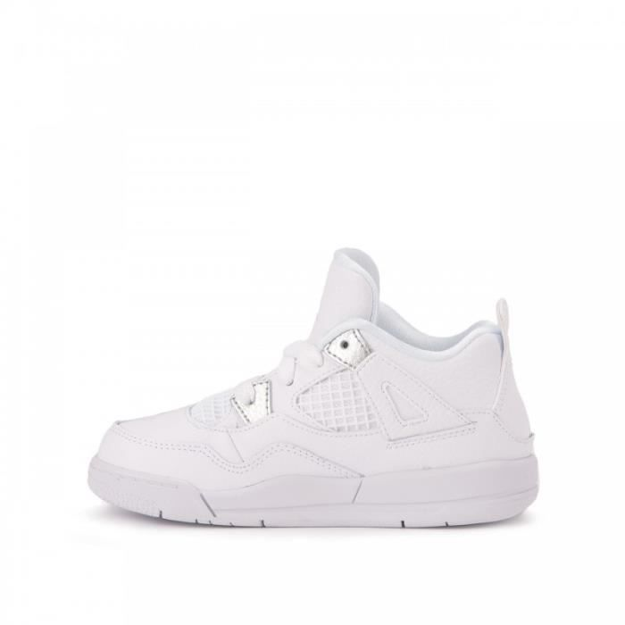 Basket Nike Air Jordan 4 Retro Td Pure Money Bébé 308500 100