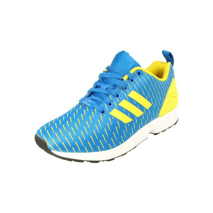 buy online 86fa3 376ff BASKET Adidas Originals Zx Flux Hommes Running Trainers S