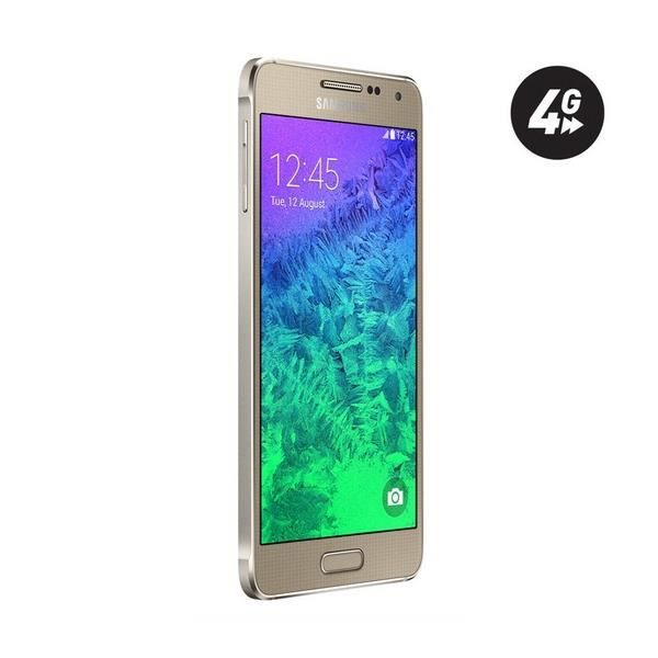 samsung galaxy alpha gold 32 go 4g smar achat. Black Bedroom Furniture Sets. Home Design Ideas