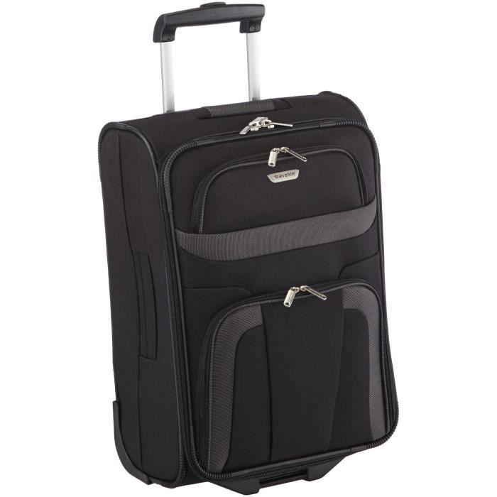 VALISE - BAGAGE Travelite Orlando Valise à roulettes Noir 37 x 53