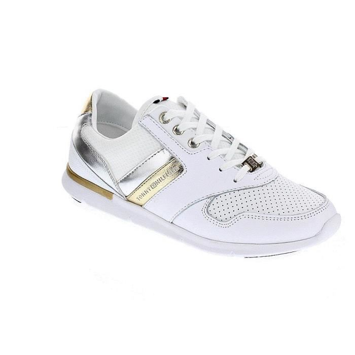 Baskets basses - Tommy Hilfiger Light WeightFemmeBlanc 36