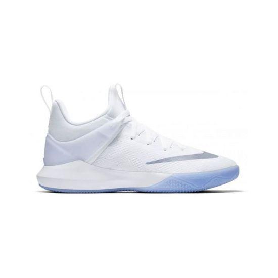 Chaussure de Basketball Nike Zoom shift blanche pour femme ...