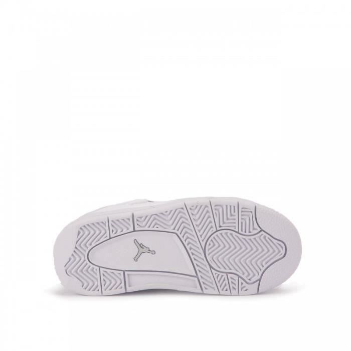 Basket Nike Air Jordan 4 Retro TD Pure Money Bébé - Ref. 308500-100
