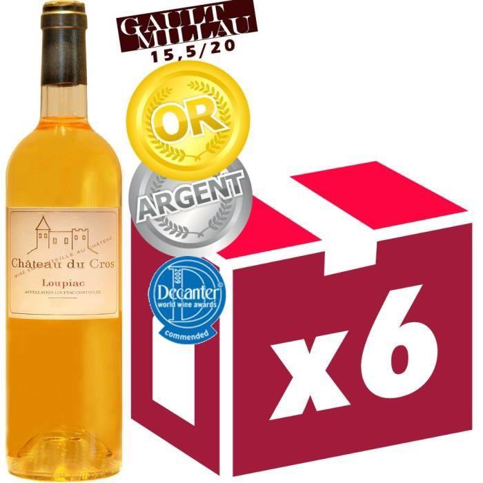 Château du Cros 2010 Loupiac - Vin blanc du Sud Ouet