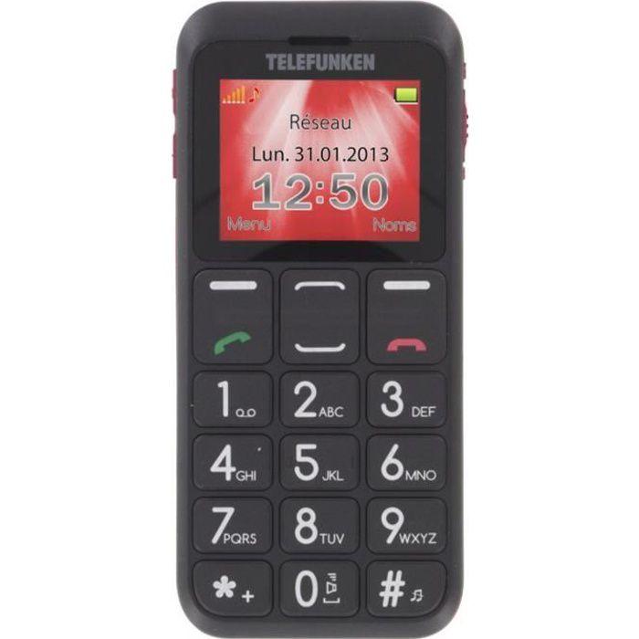 TELEFUNKEN TM 110 Big Button Black