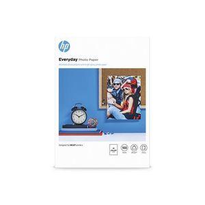 PAPIER PHOTO Papier photo brillant HP Everyday - 100 feuilles/A