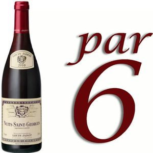VIN ROUGE Louis Jadot Nuits Saint Georges 2010 rouge