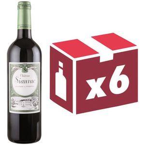 VIN ROUGE Château Siaurac 2010 Lalande de Pomerol Vin rouge