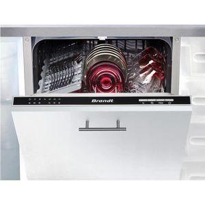 LAVE-VAISSELLE BRANDT VS1010J - Lave-vaisselle 10 couverts - 45cm