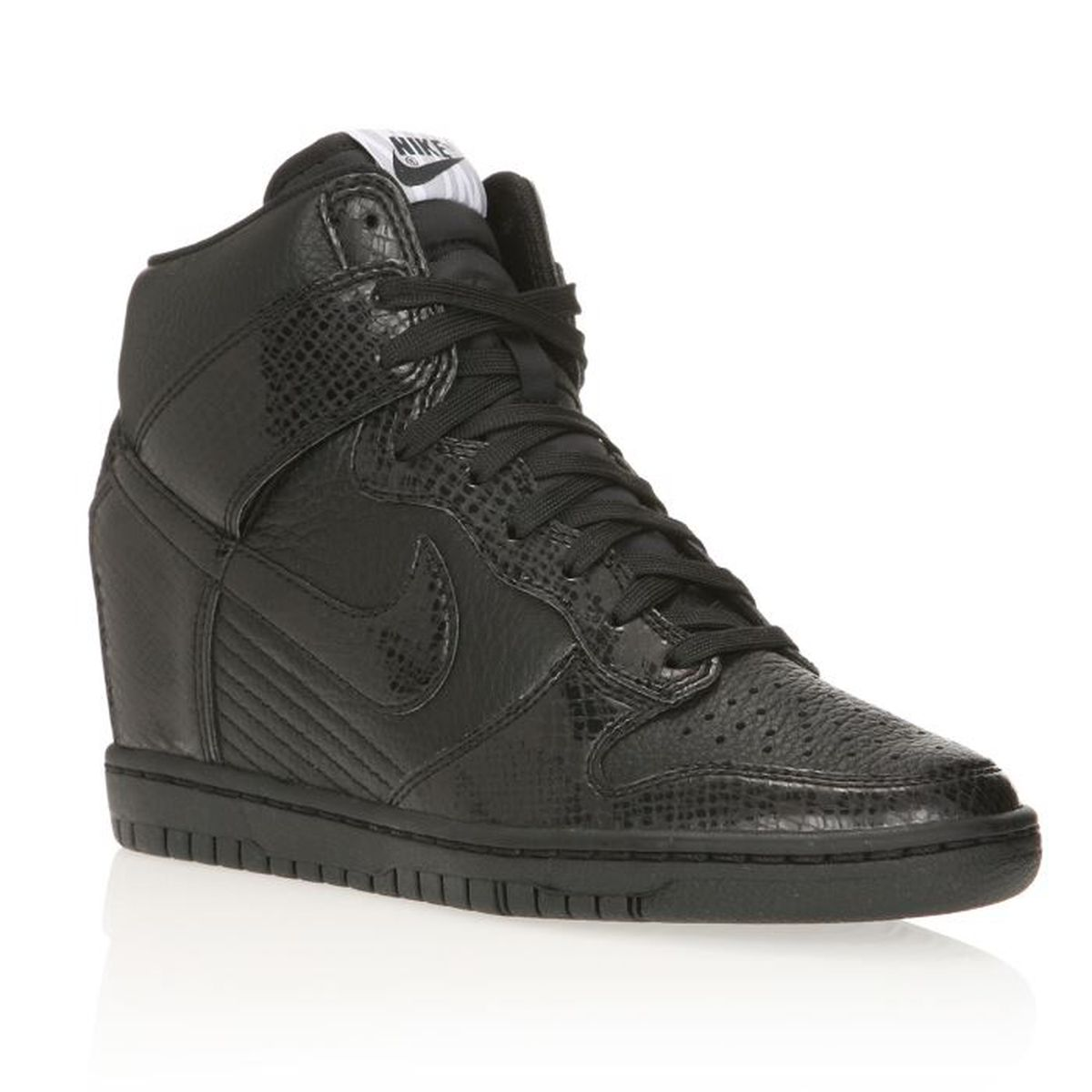 nike baskets wmns dunk sky hi femme femme noir achat vente nike baskets wmns dunk sky hi. Black Bedroom Furniture Sets. Home Design Ideas