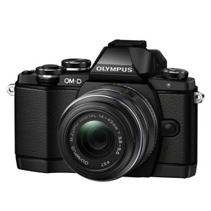APPAREIL PHOTO HYBRIDE Olympus E-M10 & objectif 14-42 IIR noir