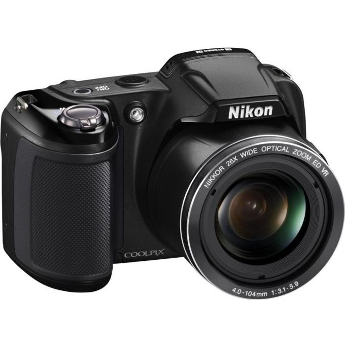 nikon coolpix l810 noir achat vente appareil photo bridge cdiscount. Black Bedroom Furniture Sets. Home Design Ideas