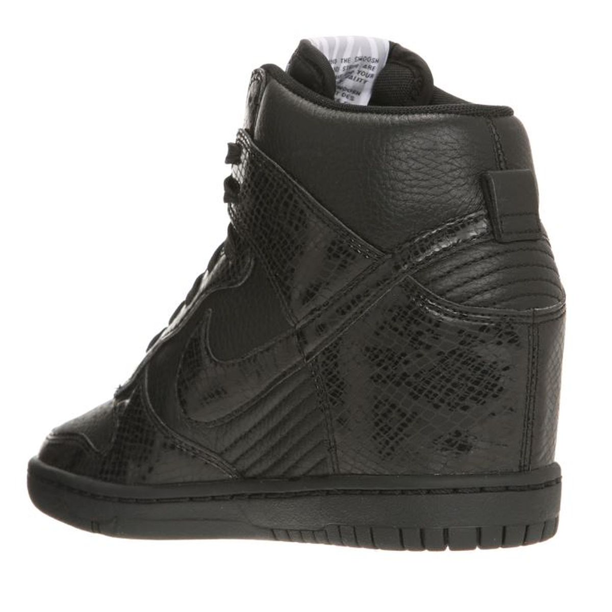 new york 3c7ae c1cba ... where can i buy nike baskets wmns dunk sky hi femme noir achat vente  basket cdiscount