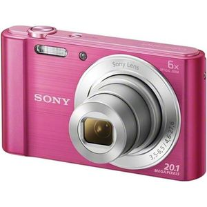 APPAREIL PHOTO COMPACT SONY DSC-W810 Rose - CCD 20 MP Zoom 6x Appareil ph