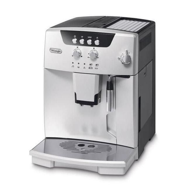 delonghi esam machine expresso automatique avec broyeur magnifica argent achat. Black Bedroom Furniture Sets. Home Design Ideas