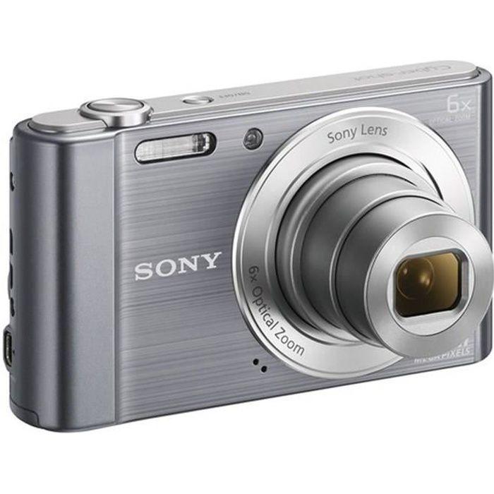 APPAREIL PHOTO COMPACT SONY DSC-W810 Compact Gris - CCD 20 MP Zoom 6x App