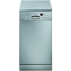 LAVE-VAISSELLE BRANDT DFS1010X - Lave-vaisselle posable - 10 couv